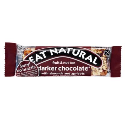 Eat Natural - Mørkere chokolade m. mandler og abrikoser