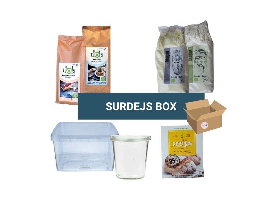 Glutenfri surdej box