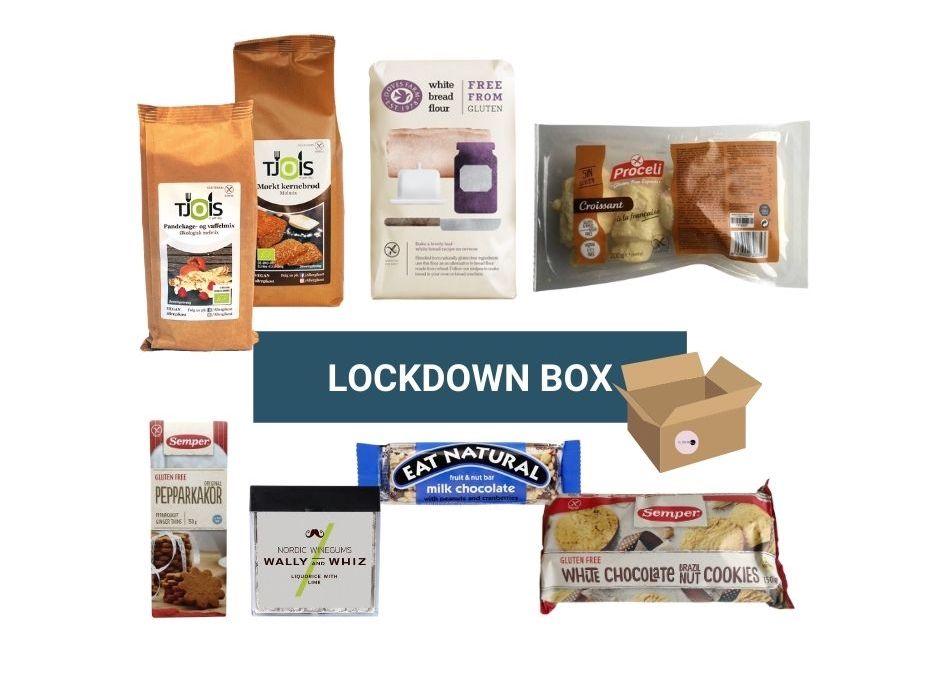 Glutenfrimagi lockdown box ny