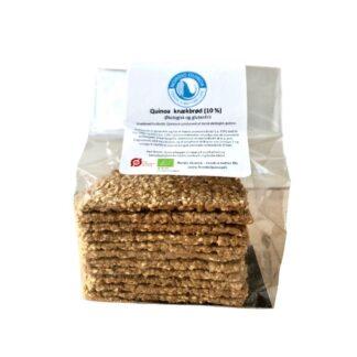 Glutenfri quinoa knækbrød