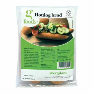 glutenfri hotdogsbrød